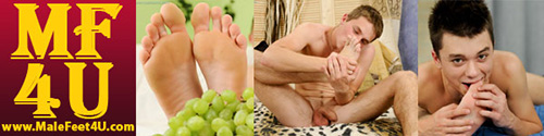 To watch the full video visit Male Feet 4 U