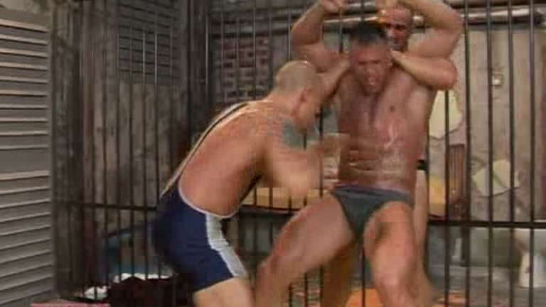 from Izaiah brother gay oil wrestling