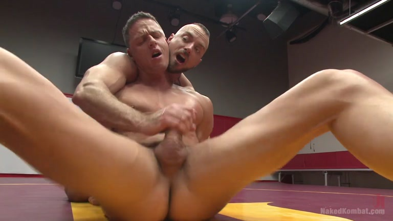Wrestling nude balls male