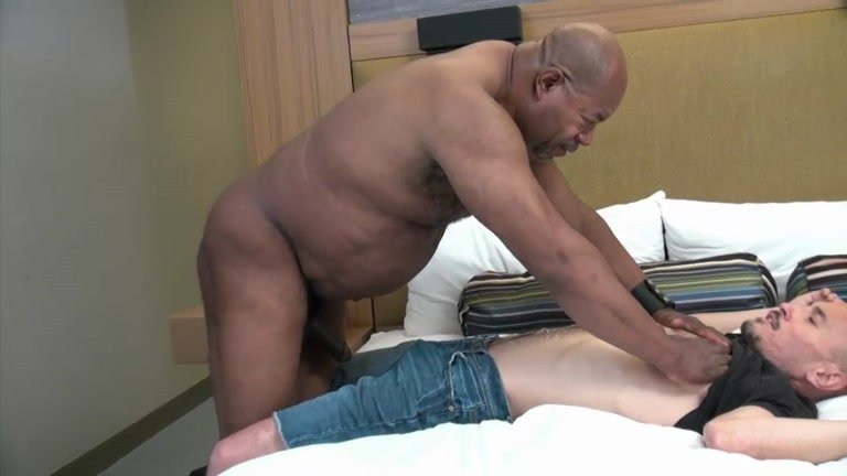 gay muscled hunk fucks old man