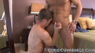 Adam sucks on Cody Cummings dick