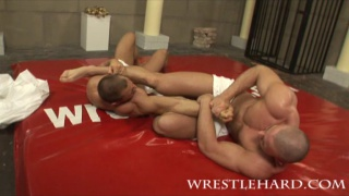 male nude oil wrestling and fucking