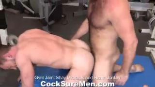 Heath probes him doggie-style