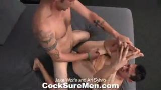 Jake Wolfe and Ari Sylvio get down and dirty