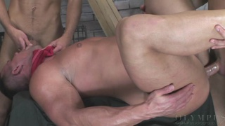 taunted by 2 big dicked studs