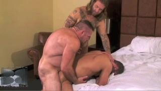 Thick cocks pounding ass bareback
