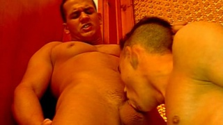 Group double anal gay fuck