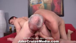 Rick McCoy helped to strip and cum