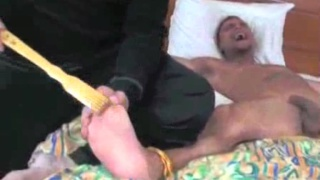 Tickled and captured foot sub