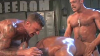 Hairy Muscle team gay fuck