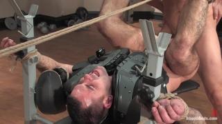 Jock gets bondage abuse