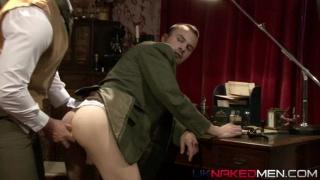 Sherlock Holmes flip flop fuck with Doctor Watson