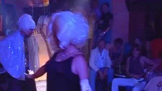 Euro boys dancing at the disco