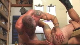 raw bareback fucking with pierced and tattooed guys
