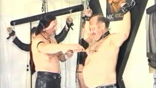 Two Slaves Whipped into Submission
