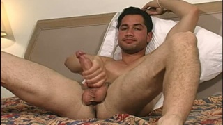 Sexy Blatino thug naked jacking off