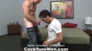 Tough hard muscle guys suck cock and fuck