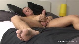 22 year old British man naked masturbating