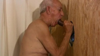 mature man suck on black cock