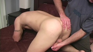 muscle stud serviced by a dude