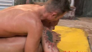 sexy model fucked by wrestler