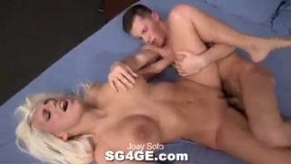 hot straight guy nails a girl