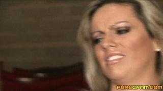 Girl gives handjob in the cinema