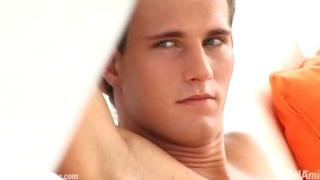 Beautiful young Czech male model naked