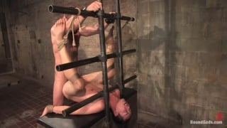 Slave in a hood gets fucked