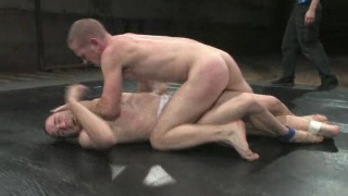 gay sexual wrestling match