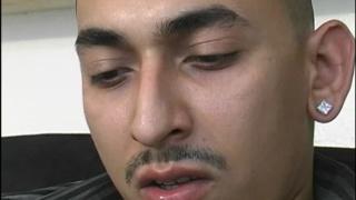 Latino with big fat uncut cock