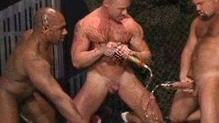 Vaccuum cock puming and gay fetish sex