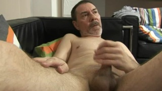 Daddy Adrian blows his load