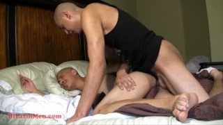 Hung Latino guys fuck harder