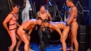 steamy BDSM orgy