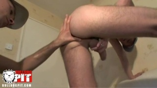 rimming and opening his hole before fucking it hard