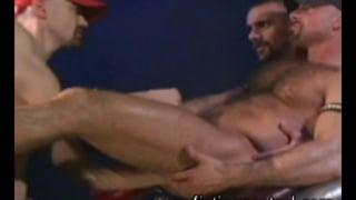 Fist training Eric Evans