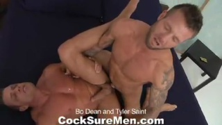 Bo Dean and Tyler Saint have sex