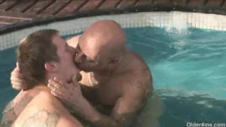 Older mature horny men on gay sex holiday