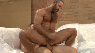 Dillon Buck fuck ass with his fat 9 inch cock