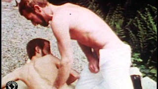 Vintage homecoming gay sex video