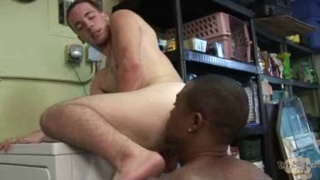 Jocks have interracial sex