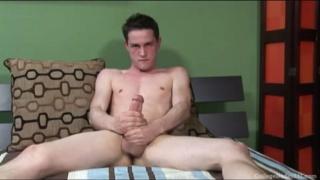 CJ strokes his dick