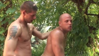 Fucking Bald Guy Outdoors