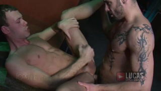 Studs Fucking in Bar