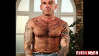 Bald and Tattooed Brit
