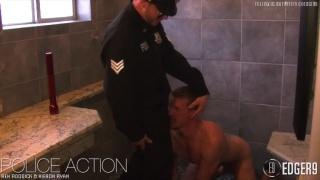 Servicing a Uniformed Cop