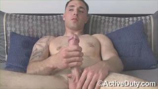 Jersey Boy Jacks his Dick
