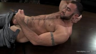 Spencer Reed Jerking at the Office