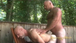 Bronson Gates Fucking Outdoors